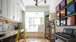 有一个这样的工作台,还嫌书房太占空间?