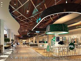 天霸设计购物中心设计效果图室内外独特设计分享