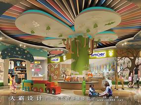 购物中心设计效果图2017更具人性化天霸设计分享
