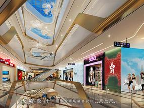 购物中心如何崛起购物中心装修设计效果图天霸设计与您分享