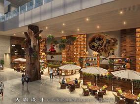 天霸设计分享购物中心装修设计效果图文化价值高