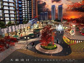 商场装修设计效果图来自湖南广东由天霸设计与您分享
