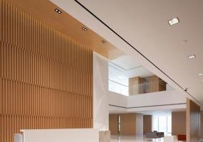 纸业集团办公室设计-巧妙的将视觉元素与行业特征有机的结合