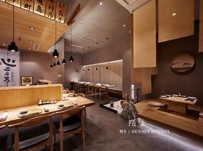 陌上设计 - 滨江天街心创作料理餐饮空间设计