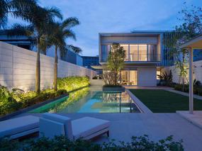 三亚艾迪逊酒店配套别墅与会所,晋园海棠湾A1型别墅