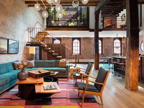Andrew Franz - 建筑改造之纽约时尚LOFT公寓设计