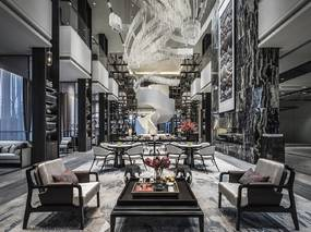 集艾室内设计 - 高级灰,演绎气质非凡的时尚东方