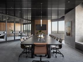 墨尔本地产公司奢华感办公室设计