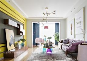 北欧风格 l 复古住宅装修设计表现