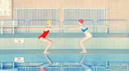 【配色灵感】缤纷马卡龙 | 游泳池里惊艳了的时光