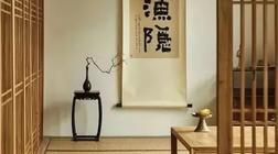 选择茶室挂画的法则