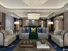 【3D效果图点评第29期】两套不一样的欧式简约客厅