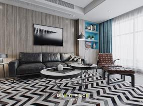 现代北欧家装空间表现