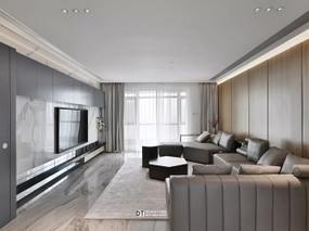 现代简约 l 现代而纯净的生活空间