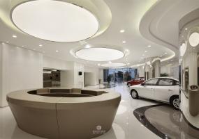 吴钒设计 - 美源汽车展厅及售房部空间表现