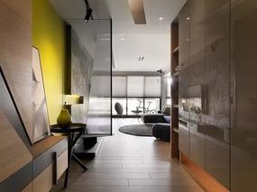 用色大胆的现代公寓,90后业主的偏爱!