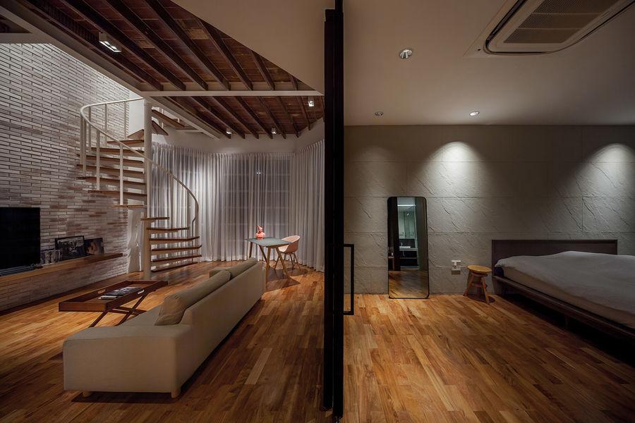 【设计灵感】公寓放飞自我的设计空间
