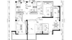 【户型优化第6期】152平一家六口,四房两厅一厨一卫