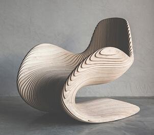 【小伟建模图文】简单的造型椅