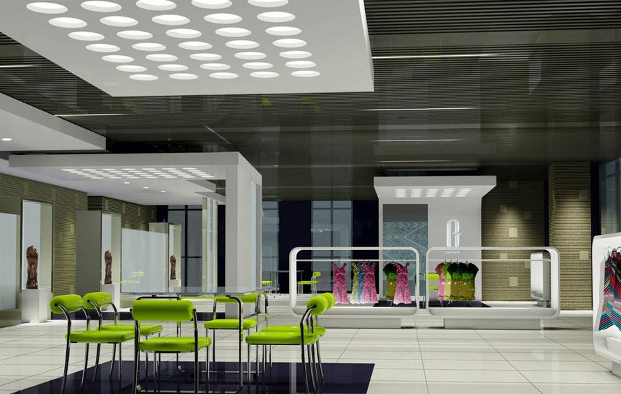 企业展厅 销售展厅设计案例效果图