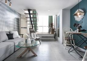 黄让设计   北欧混搭小公寓