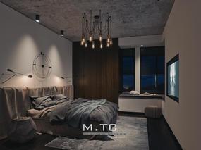 又是一组卧室效果图