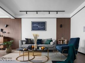 北欧风住宅空间设计   木白言己