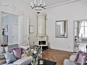 【设计圈】129平米精致公寓 古典与现代完美结合sjq315