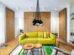 奇妙格局公寓 自然元素贯穿整个空间-设计圈sjq315