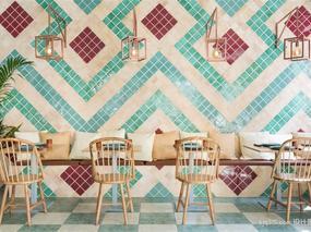 设计圈打造成地中海风情的时尚餐厅sjq315