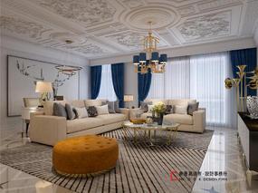 棕榈泉国际公寓的法式浪漫——香港高迪愙设计事务所(北京)