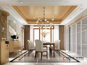 优山美地新中式别墅设计——高迪愙设计作品(北京)