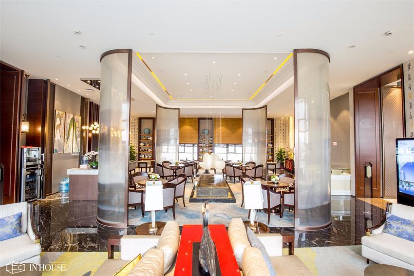 香港IN HOUSE设计:泰安万岳金融商务区售楼处设计