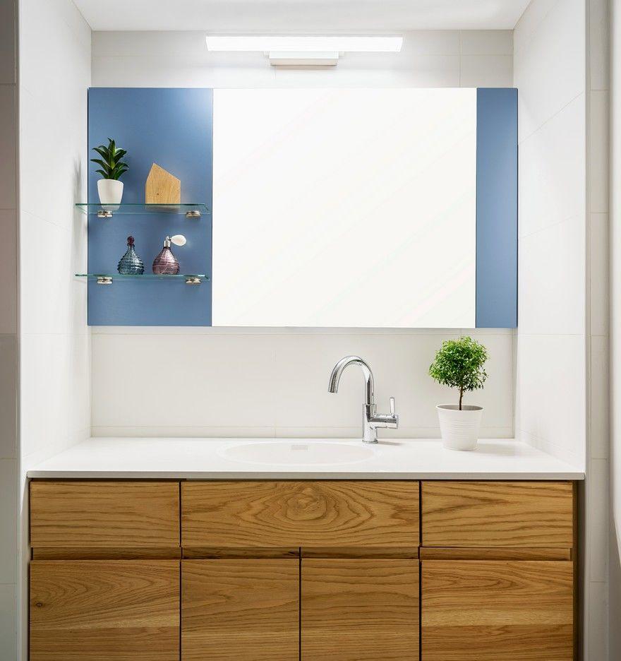 Blue Wall Apartment