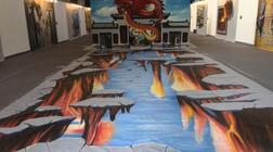 蓝图兄弟艺术(壁画墙画,油画,景观. 3d立体画)