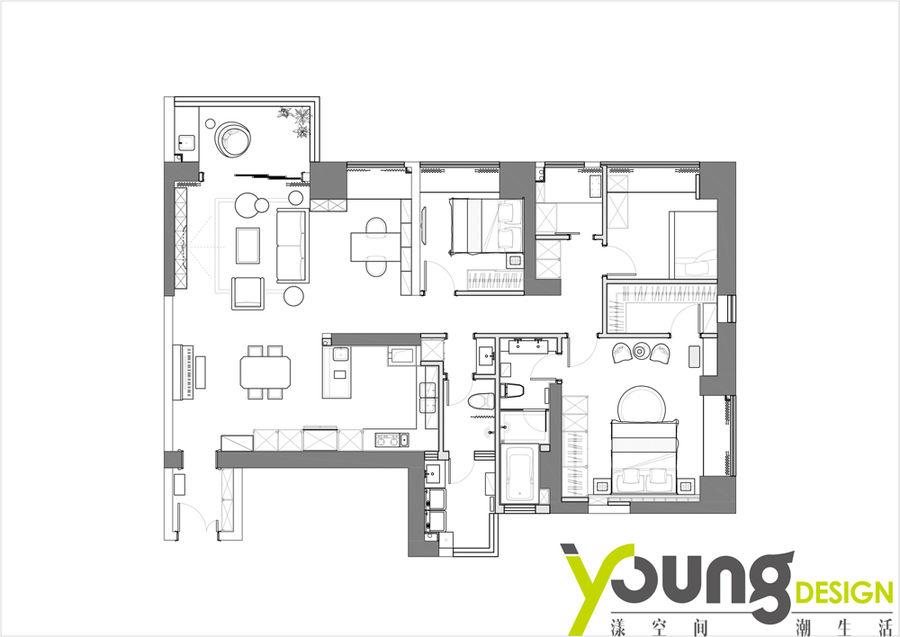 漾设计Young Design|《此心安处》深圳南山区华润城