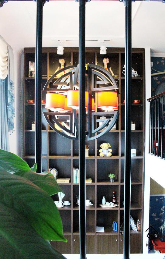 【久栖设计】北京丽舍公寓丨复式空间新中式设计丨瑞丽家居杂志刊登