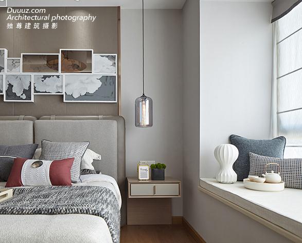 独尊建筑摄影:越简单,越精致 | 顺德中惠璧珑花园样板房