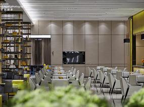 独尊建筑摄影:现代风格海伦天麓销售中心