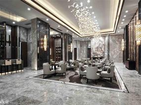 济南荣盛·华府售楼处设计——香港INHOUSE设计