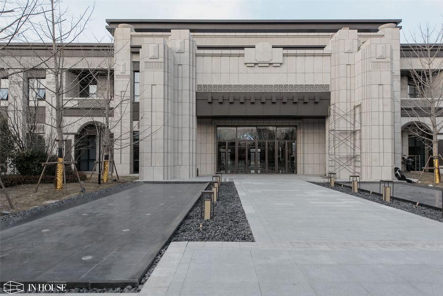 荣盛投资300亿齐河·温泉小镇项目售楼处设计——INHOUSE设计