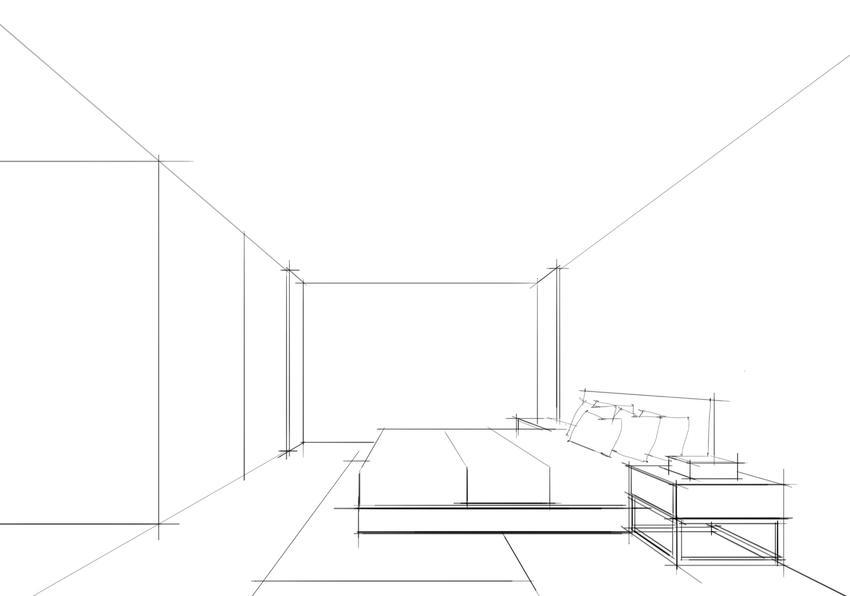纯粹连柏慧电脑手绘作品步骤图——别墅2