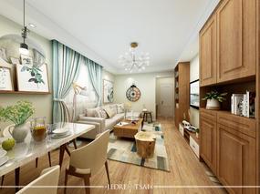 闵行区莘西南路128号美丽家园32号现代简约空间设计