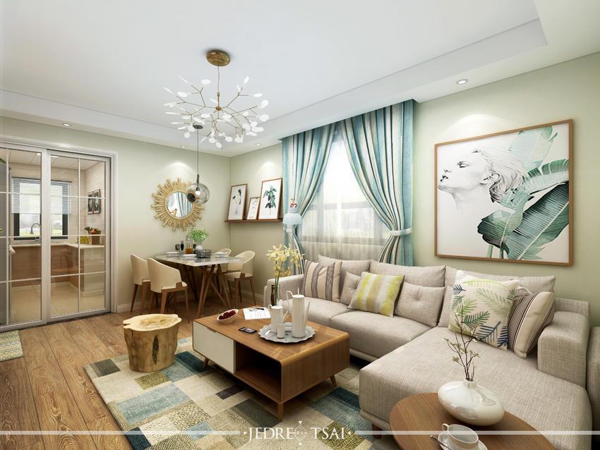 闵行区莘西南路128号美丽家园32号北欧空间设计