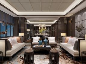 高屋林语堂装修 | 别墅新中式风格设计