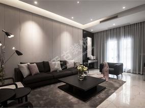 越简单越时尚,银雕灰打造的个性居家空间--华润二十四城洋房设计