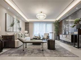 贵阳别墅装修—大户型高端设计中式风格装修案例