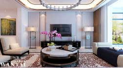 把家装成礼物送给TA,济宁阳光盛景园新中式风格的装修设计案例