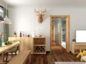 北欧风格混搭日式风格住宅设计 -前意识设计叶平作品