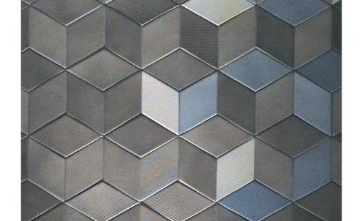【魏哲建模图文】菱形造型墙